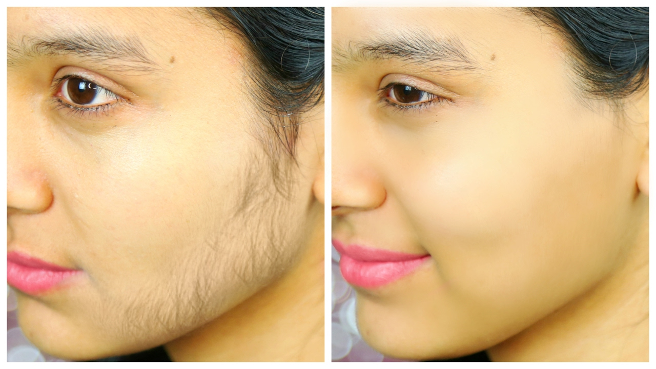 How to remove small facial hair-9804