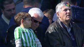 Calentamiento Real Betis vs Real Sociedad
