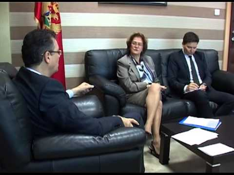 Video footage of the official visit of Ms. Cihan Sultanoglu to Montenegro