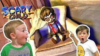Scary Child 3D Horror Gameplay - Granny has a Grandson!