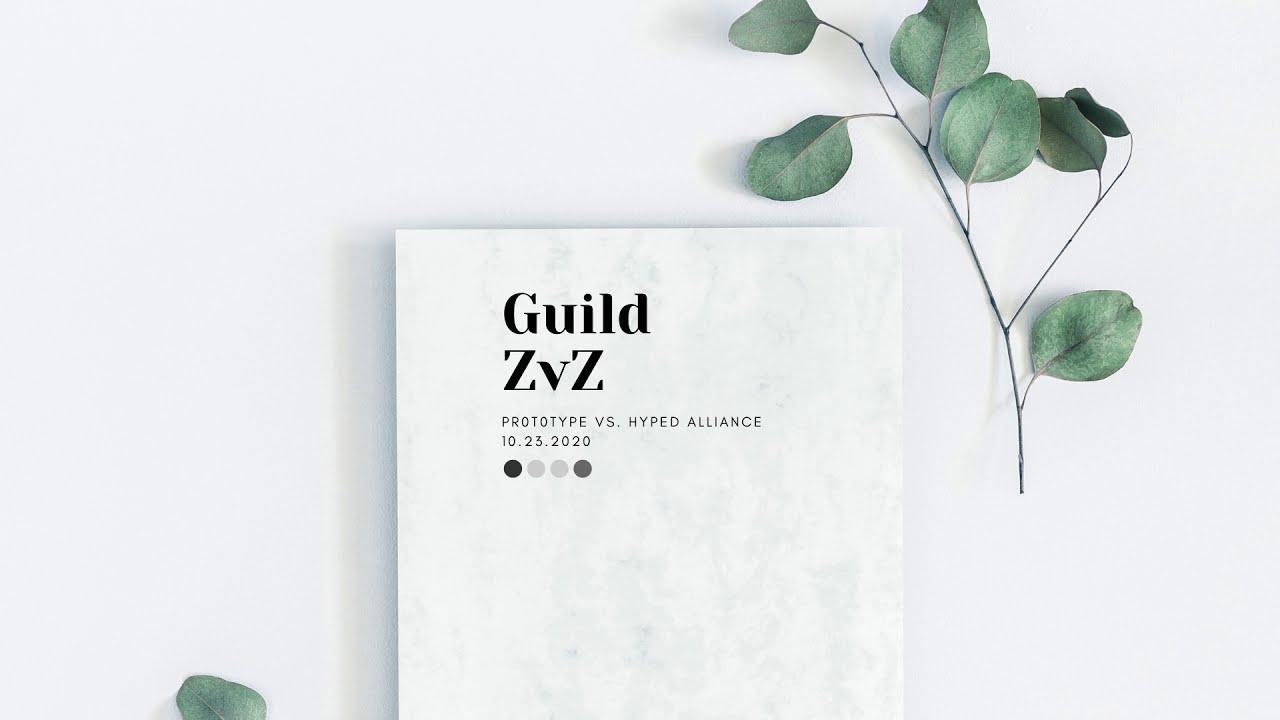 Guild ZvZ: Prototype vs. HYPED Alliance