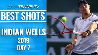 Best Shots & Rallies: Indian Wells 2019 Day 7