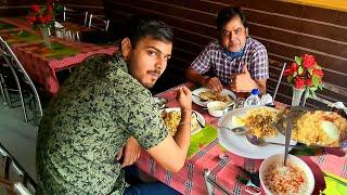 Chicken Biryani 😋 & Matargasti  with VS MONU vlogs | Restaurants in Patna | travel india with rishi