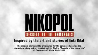 Nikopol Secrets of the Immortals Enki Bilal based video game
