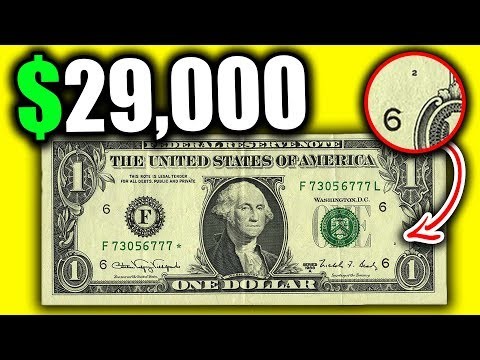 10 WEB NOTE DOLLAR BILLS WORTH MONEY!! SUPER RARE BANKNOTES AND CURRENCY HIDING IN YOUR WALLET!!