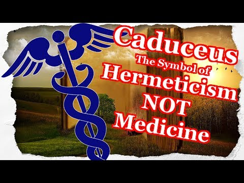 The Caduceus Symbol Of Hermeticism Not Medicine Youtube