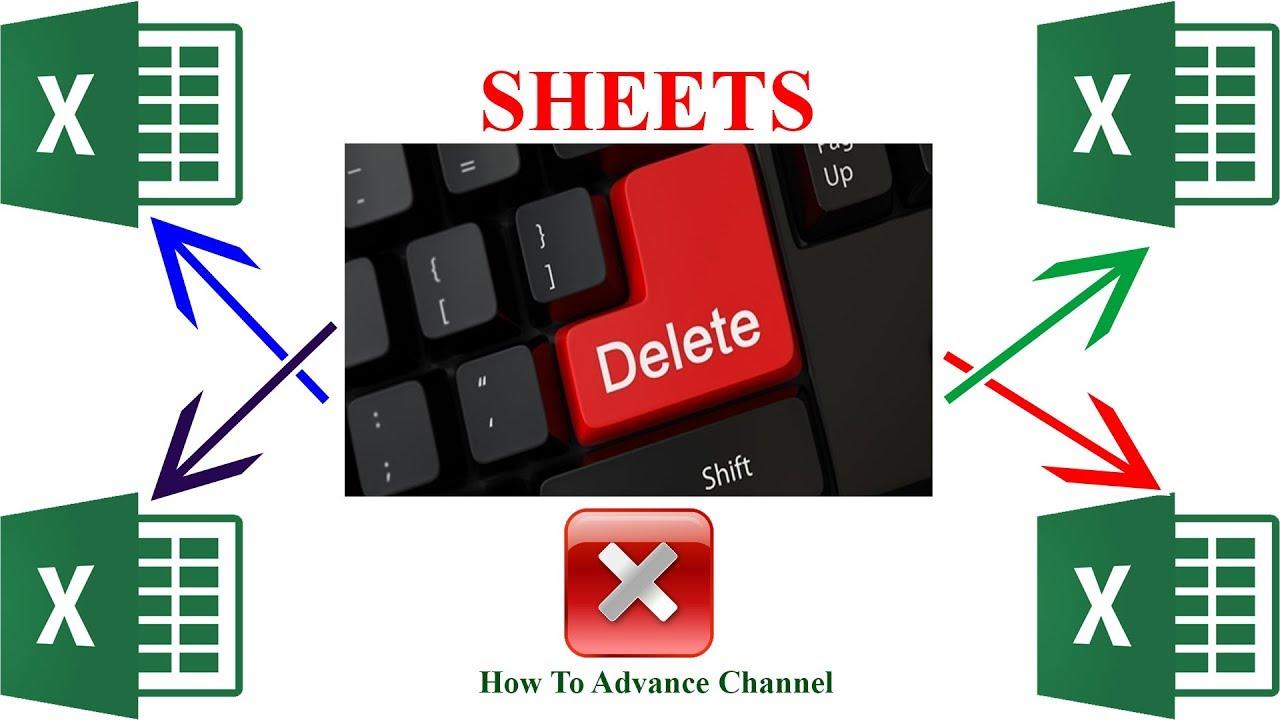 Làm Thế Nào Xóa Nhiều Sheet Nhanh Nhất trong Excel