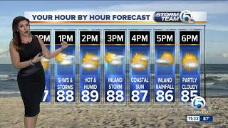 South Florida Tuesday afternoon forecast (9/25/18)