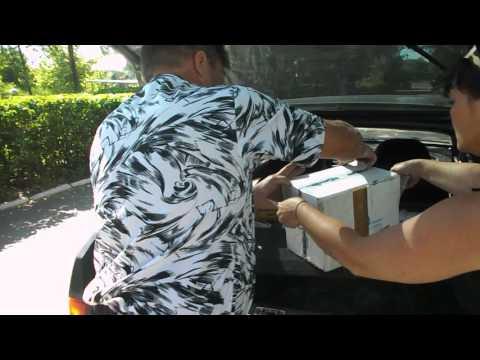 Получение посылки -доставка курьером