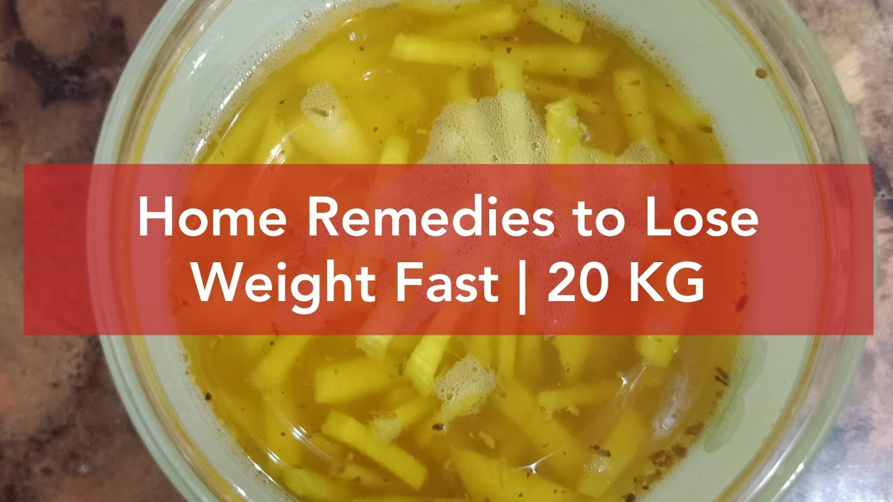 Home Remedies to Lose Weight Super Fast and Reduce Belly ...