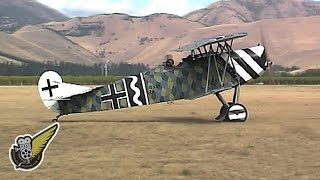 WW1 German Fighter Biplane - Fokker D.vii