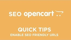OpenCart SEO - Quick Tips