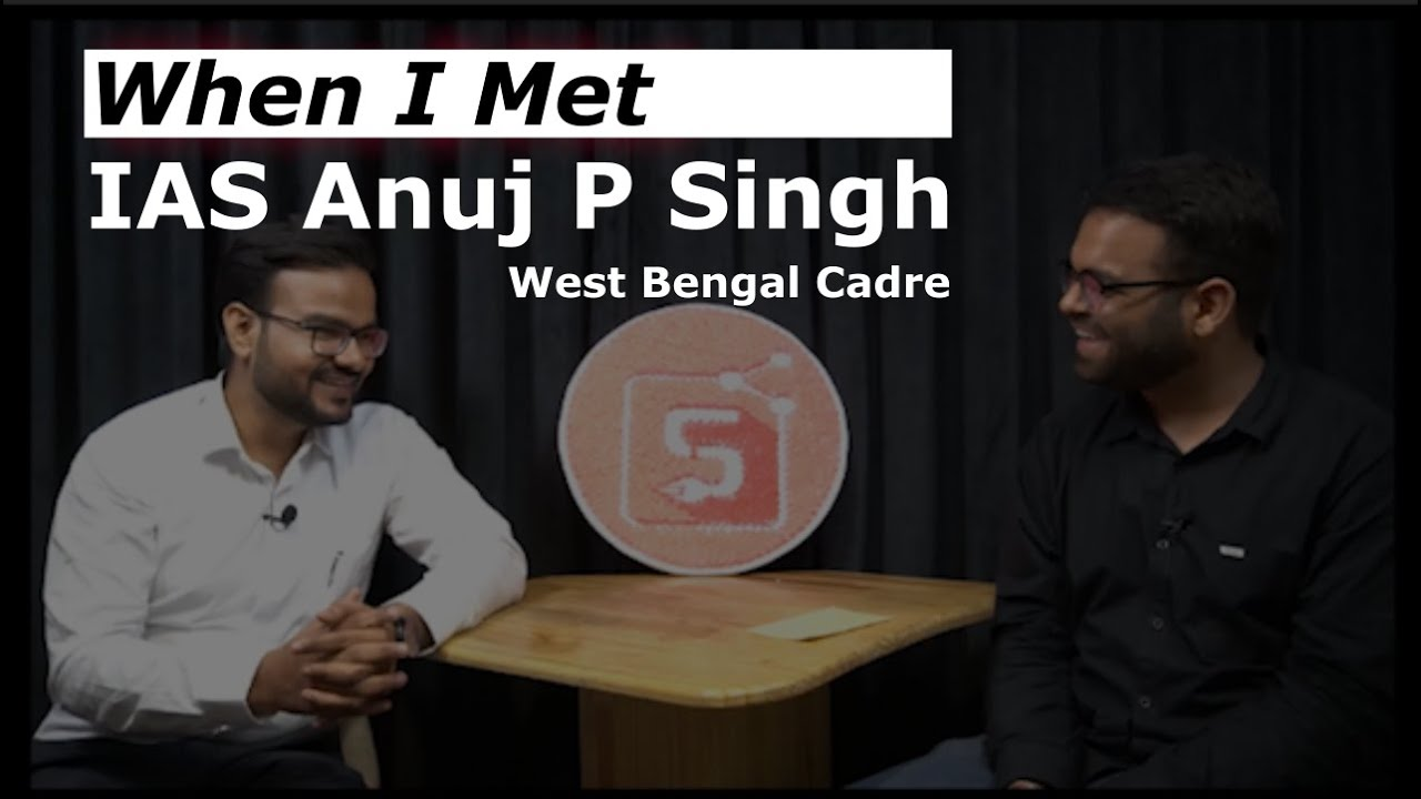 This IAS is a real life fighter! / When I Met IAS Anuj Pratap Singh / UPSC / Stories Worth Sharing