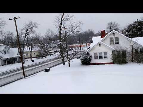Tormenta de nieve enero 2017 North Carolina