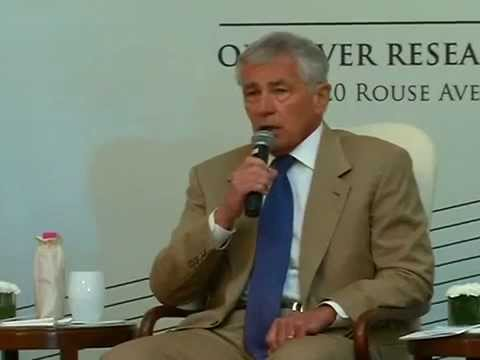 Special Address of US Secretary of Defense Chuck Hagel