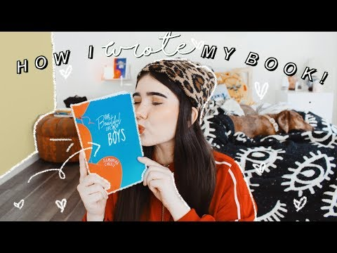 How I Wrote My Book!!  |  📚The Beautiful Life Of Boys 🎈