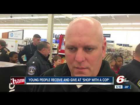 Dozens of local kids 'Shop with a Cop' in Marion County Mp3