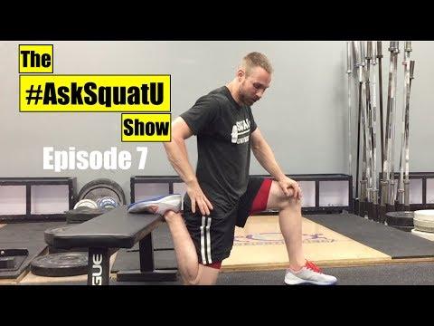 How to Fix Knees That Crack & Pop When Squatting |#AskSquatU