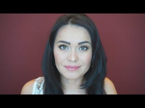 Повседневный макияж для карих глаз за 7 минут