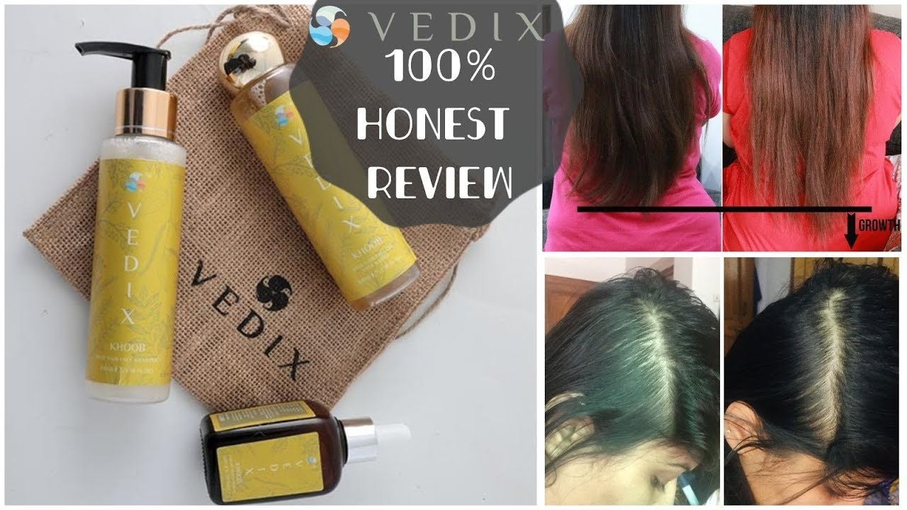 I Tried Vedix For 1 Month 100 Honest Non Sponsored Vedix Review Customised Hair Routine Kavya Youtube