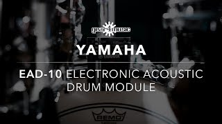 Yamaha EAD-10 Electronic Acoustic Drum Module | Gear4music Demo