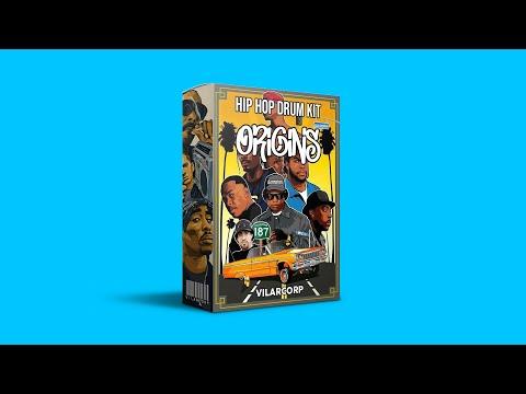 ORIGINS Hip Hop Drum Kit by VILARCORP