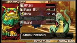 Shin Megami Tensei Devil Survivor Gameplay
