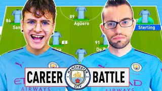 ⚔️ 1 VS 1 CAREER BATTLE CHALLENGE ZW VS GIUSE360 con il MANCHESTER CITY⚽️