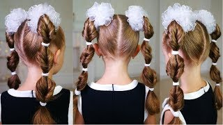 EASY HEATLESS BACK TO SCHOOL HAIRSTYLE! Cute hairstyle for school! Quick hairstyles!