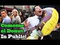 Download COMEME EL DONUT (Eat my Donut) - SINGING IN PUBLIC!!