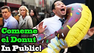 COMEME EL DONUT (Eat my Donut) - SINGING IN PUBLIC