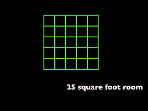 Measuring square feet of a room youtube for Square footage of a room