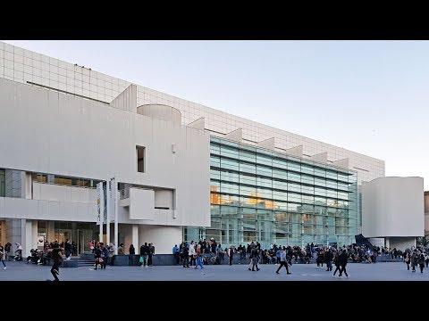 WALKING TOUR [2018.03] MACBA (Barcelona Museum of Contemporary Art) by Richard Meier