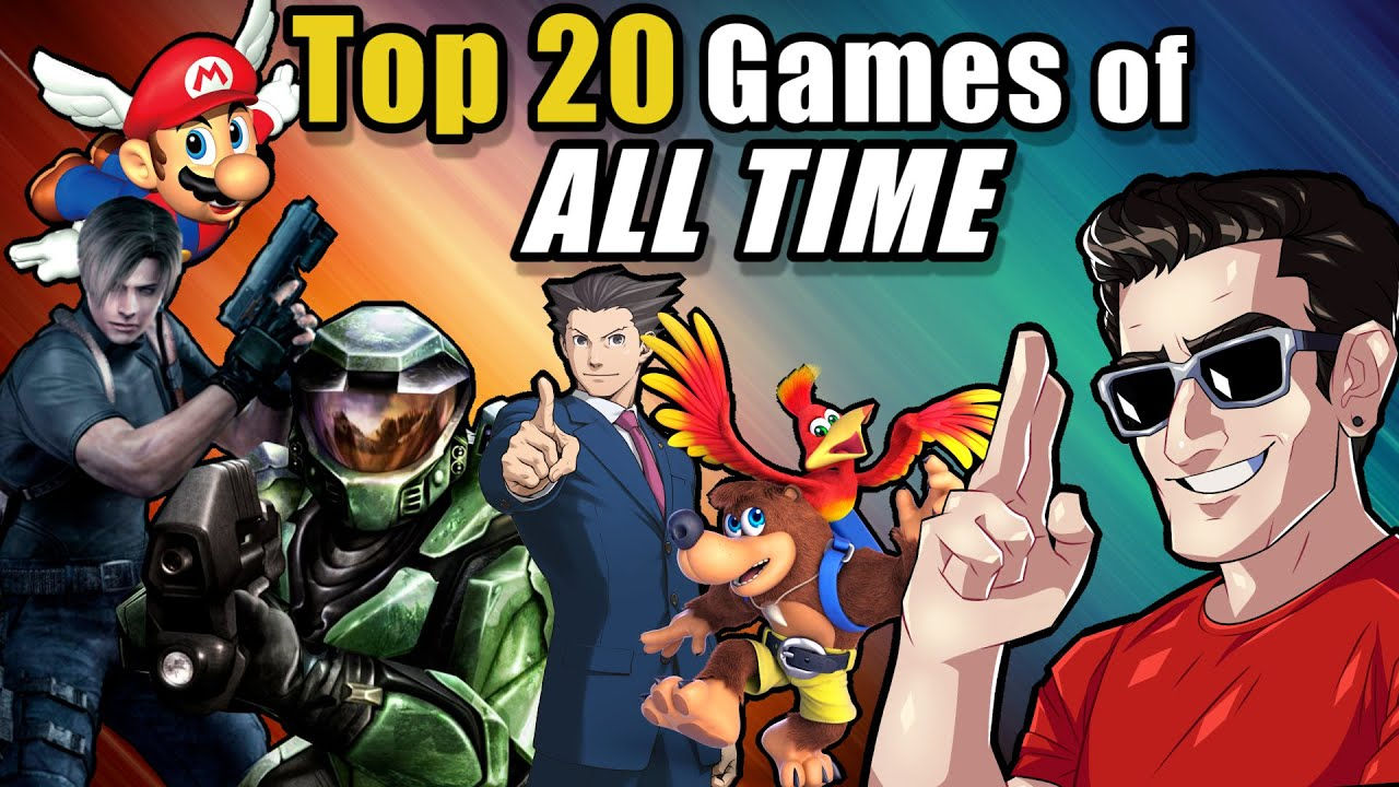 Act Man's Top 20 Games of ALL TIME!!