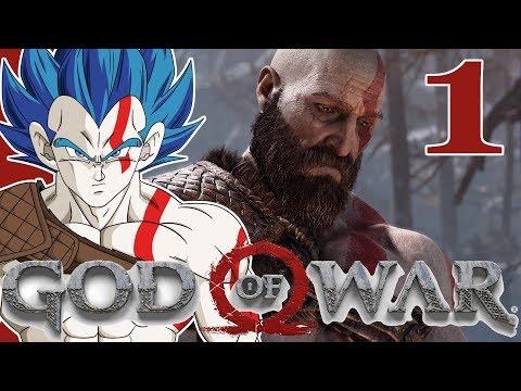"""""""A GOD IS BORN"""" Vegeta Plays GOD OF WAR - Part 1"""