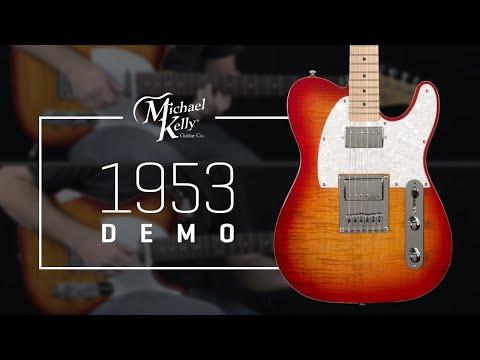 """Michael Kelly Guitars 1953 Demo - """"Entre tu almohada y la mía"""""""
