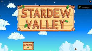 The tale of antisocial Amy (Stardew Vally week 1)