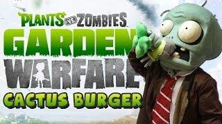 CACTUS BURGERS! - Plants vs Zombies Garden Warfare (Xbox One)