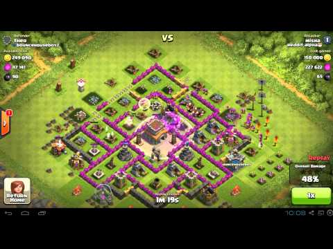 Clash of Clans: TH7 Army Composition for Big Loot