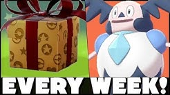 New Mystery Gifts EVERY WEEK In Pokemon Sword and Shield!