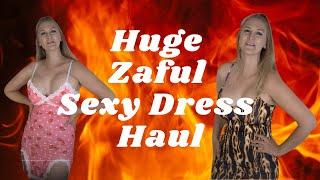 Huge @ZAFUL Try On Haul! Sexy Mini Dresses, Crop Tops, See Through! Club Wear! Summer Fashion!