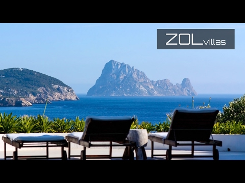 Seafront beach villa with iconic views @ ZOL Luxury rentals ibiza Spain