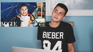 73 Questions With Hailey Bieber | Vogue | STAN REACTION