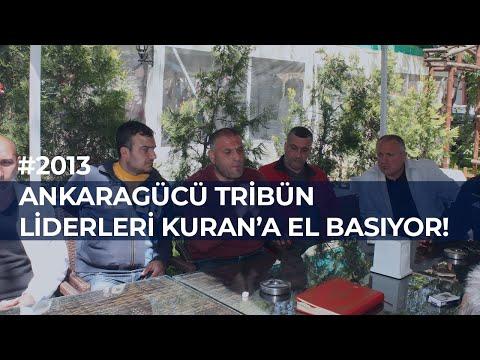 ANKARAGÜCÜ TARAFTARI KURAN'A EL BASTI! 13.04.2013