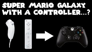 Playing Super Mario Galaxy with an Xbox Controller
