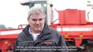 Nationale Proeftuin Precisie Landbouw bij Huetink Lelies in Lemelerveld (OV)