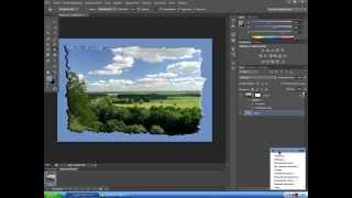 рамки на фотографии способ 1 фотошоп cs6