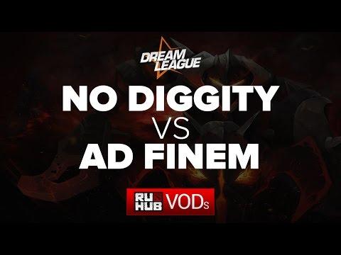 No Diggity vs Ad Finem, DreamLeague Season 5, Game 2