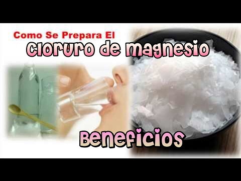 Cloruro de magnesio usos y beneficios y contraindicaciones