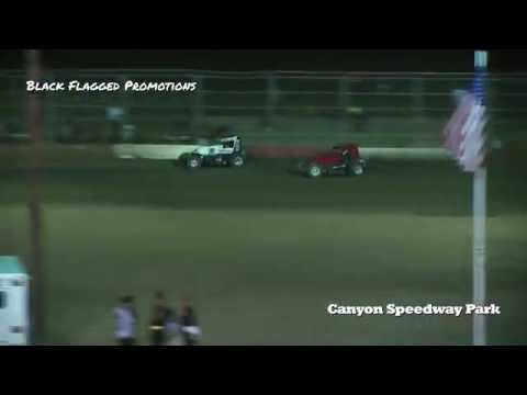 Canyon Speedway Park- Sprint Car Main May 2nd 2015